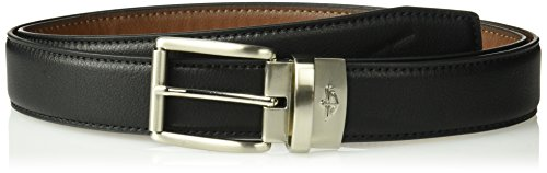 - Dockers Men's Reversible Casual Belt with Comfort Stretch-black/cognac, Large