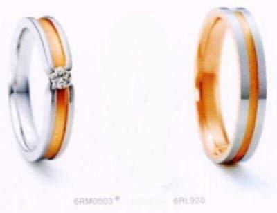 NINA RICCI ニナリッチ 19-6RM0003-21-6RL920 <br>マリッジリング結婚指輪ペアリング用(2本) (13) B01FPA2H5A 13