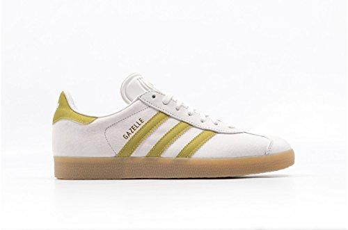 Adidas Gazelle, scarpe da ginnastica unisex per adulto, Bianco (VINTAGE WHT), 45.5 EU