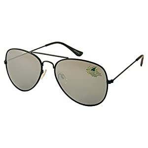 Margaritaville LandShark Aviator Polarized Sunglasses Black
