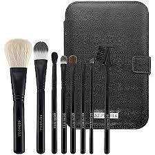 Sephora Brush Set -- Ultimate Travel Tool Kit in Black