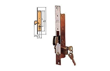 MCM - Cerradura Embutir P/Metalica Mcm 21