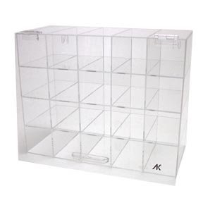 Safety Eye Glass Storage Case Acrylic With Door