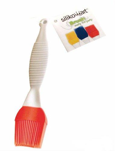 silikomart 70.048.72.0001 Brush with Silicone Handle Orange 1 x 4 x 16 cm