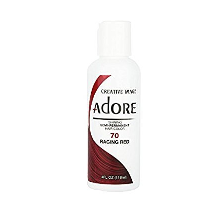 Shining Semi-Permanent Hair Color - Raging Red - 118ml by Adore