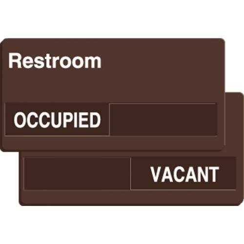 1 best restroom signage occupied