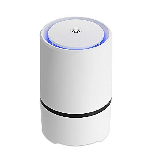 Robolife Air Purifier with HEPA Filter, USB Desktop Mini Air Cleaner Anion Sterilization Smoke Odor Allergen Eliminator by Robolife