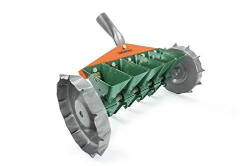 Varomorus Metal Precision Manual Seeder for Vegetables Greens Onion Radish Beets (5-Row)