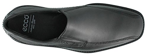 ECCO Men's New Jersey Slip On Slip-on Shoes,Black Santiago,43 M EU
