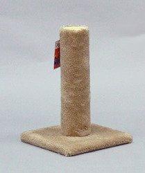 North American Pet Urban Cat Cat Carpet Scratching Post 20″ High (Assorted Colors)