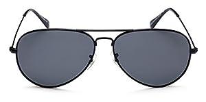 "PRIVÉ REVAUX ""The Commando"" Polarized Aviator Sunglasses - Handcrafted Designer Eyewear For Men & Women"