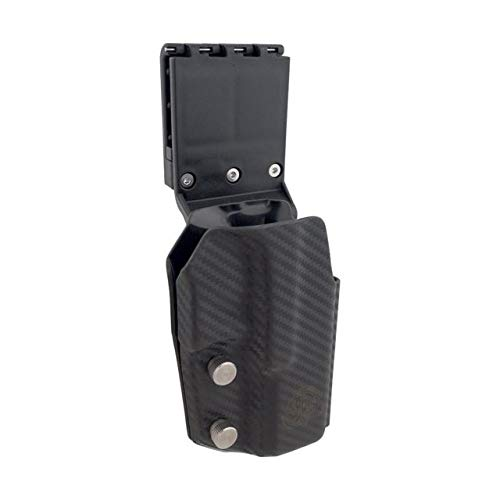 Uspsa Ipsc 3 gun Black Scorpion Gear, OWB Kydex Holster Pro Competition : Fits Glock 17 22 - Full adjustable in all angles - adjustable retention - Completely legal in Uspsa Production Division