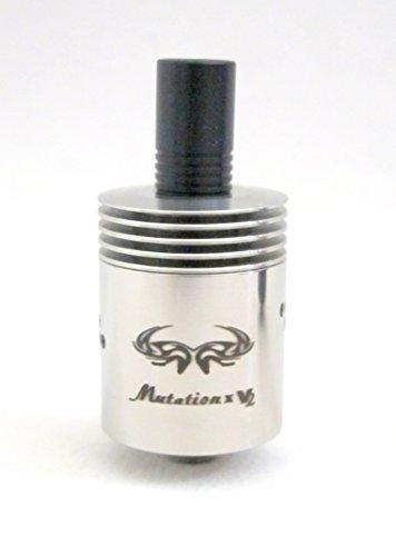 stainless steel Mutation x v2 style rda