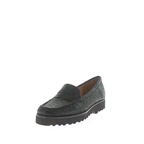 Women's 01 Flats 16529 Black Loafer Schuh Wirth SP pwq677