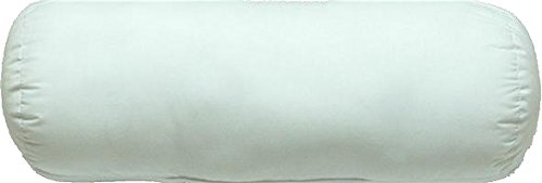 "Therapist's Choice® Jackson Roll Pillow, 17"" x 7"", White"