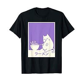"""""""Ramen"""" Kawaii Japanese Cat T-Shirt"""