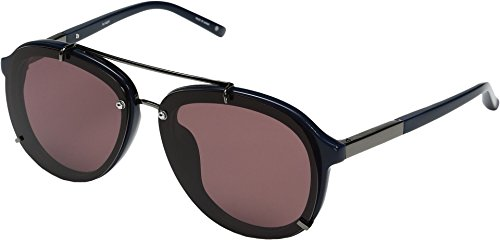 3.1 Phillip Lim Women's PL162C3SUN Navy/Gunmetal/Purple - 3.1 Phillip Lim Eyewear