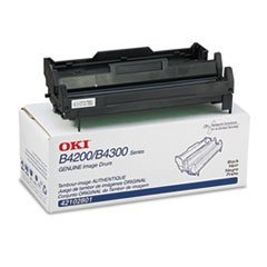 Oki 42102801 OEM Drum - B4100 4200 4250 4300 4350 Series Image Drum (25000 Yield) by OKI