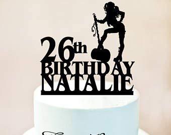 Adorno para tarta Harley Quinn, decoración para tarta de ...
