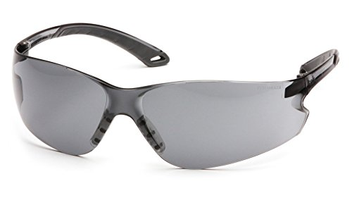 - Pyramex Itek Safety Eyewear, Gray Anti-Fog Lens With Gray Temples