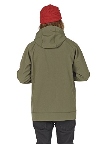 Burton Men's Bonded Full-Zip Hoodie, Dusty Olive Heather, XX-Large by Burton (Image #4)