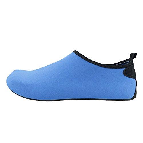 Senfi Waterschoenen Unisex Op Blote Voeten Outdoor Atletische Aqua Schoenen Voor Strand Zwembad Surf Oefening (mannen / Vrouwen) Aqua