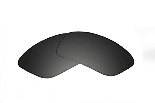 SFx Replacement Sunglass Lenses fits Maui Jim MJ226 Hamoa Beach 61mm Wide (Ultimate Black Gradient Hardcoat ()