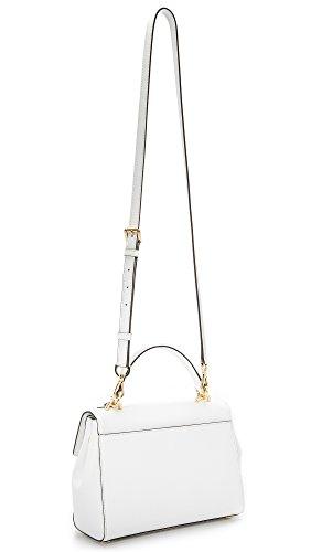 Michael Kors borsa modello Ava bianca