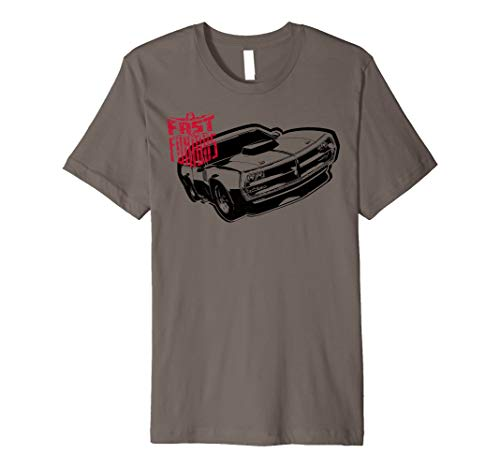Fast & Furious Est. 2001 - Classic Muscle Car Fitted T-shirt