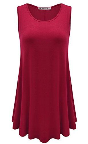 JollieLovin Womens Sleeveless Solid Summer product image