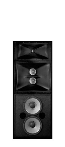 JBL 3732 Three-Way Bi-Amplified or Tri-Amplified Passive ScreenArray Cinema Loudspeaker System from JBL