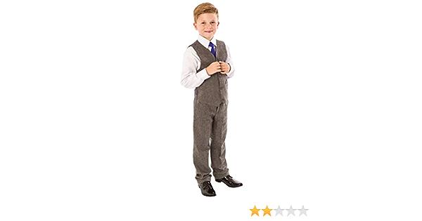 Traje de tweed para niños, 4 piezas para boda, Page Boy ...