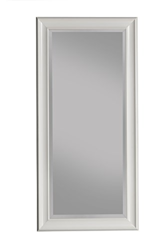 Sandberg Furniture Frost white Full Length Leaner Mirror (Mirror White Length Wall Full)