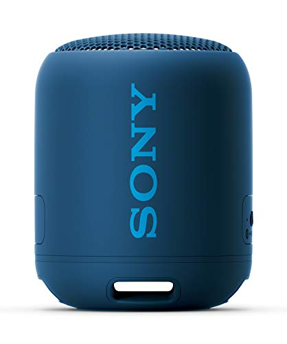 Sony SRS-XB12 Extra Bass Portable Bluetooth Speaker (Blue) with Hardshell Carrying Case Bundle (2 Items)