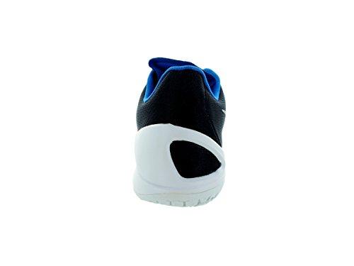 Nike Hyperchase Basketball Herrenschuhe Midnight Navy / Weiß / Foto Blau / Metallic Silber