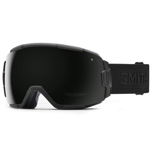 Smith Vice Masque de ski pour homme Taille unique Blackout Schwarz/Schwarz