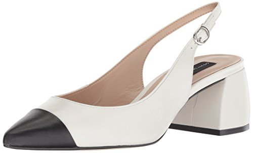 (STEVEN by Steve Madden Women's Agent Pump White/Multi 9 M US)