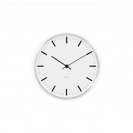Arne Jacobsen Rosendahl 210 43631 City Hall Wall Clock Diameter 21 cm