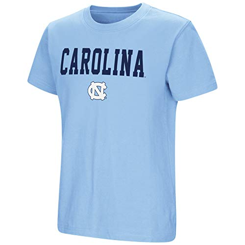 - Colosseum NCAA Youth Boys-Talk The Talk-Cotton T-Shirt-North Carolina Tar Heels-Carolina Blue-Youth Large