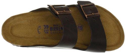 Birkenstock ARIZONA  FL 352703 - Sandalias de cuero unisex Brown Amalfi