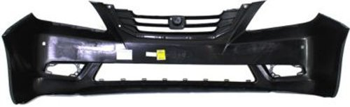 CPP Primed Front Bumper Cover Replacement for 2008-2010 Honda Odyssey