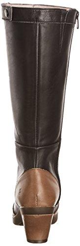 Naturalista Women's Black Land Espiral El Knee Boots High Homemade BwpRZRFqW