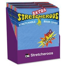 (Charles Leonard LEO34516ST Extra Stretcheroos Back Cover Display44; 36 Per Display )