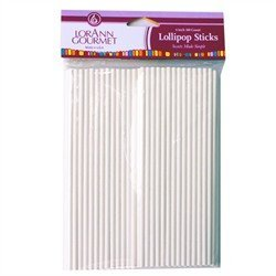 Lorann Gourmet 6 inch Lollipop Sticks 100 Count by LorAnn Oils 5721