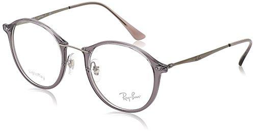 Ray-Ban Unisex RX7073 Eyeglasses Shiny Grey 49mm