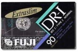 Set of 6 Fuji DR-I 90 Extraslim Audio Cassette