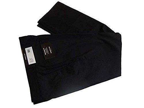 Kenneth Cole New York Mens Wool Blend Precision Fit Dress Pants (30W x 32L, Charcoal)