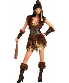 Cave Cutie Adult Costume - (Women's Cave Girl Cutie Costumes)