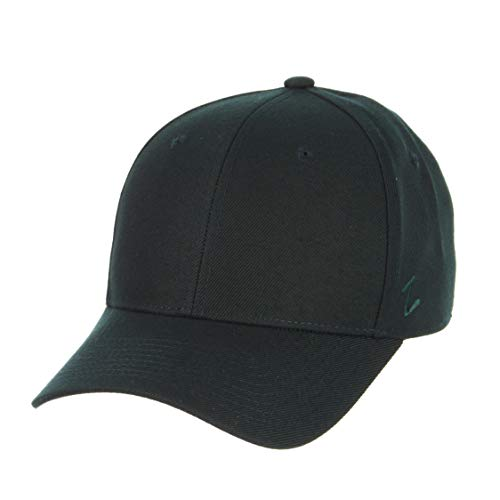 Zephyr Mens DH Fitted Hat, Forest Green, 7 5/8
