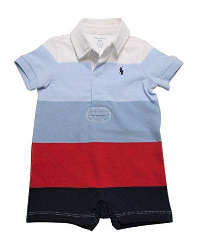 Ralph Lauren Shortalls Bodysuit Striped product image